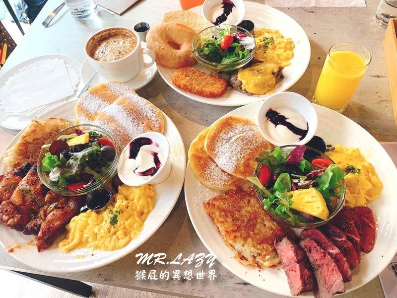 【台中美食】台中不限時早午餐MR.LAZY慵懶先生廚房Brunch&Dinner!環境優、適合聚餐!台中有免費停車場餐廳!