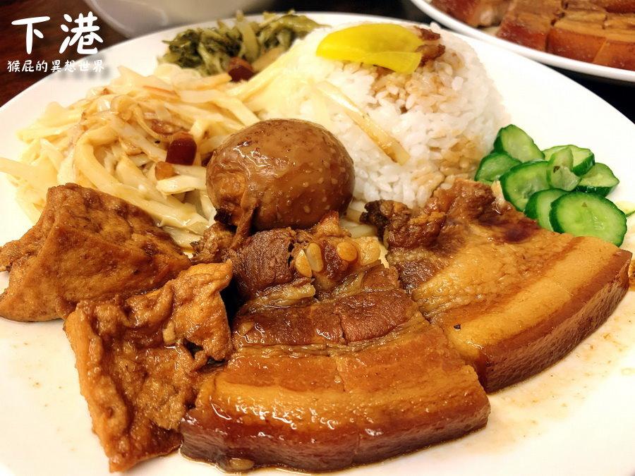 【新北中和】樂華夜市美食-下港排骨酥湯!中和好吃滷肉飯排骨酥湯!中和便當店推薦!
