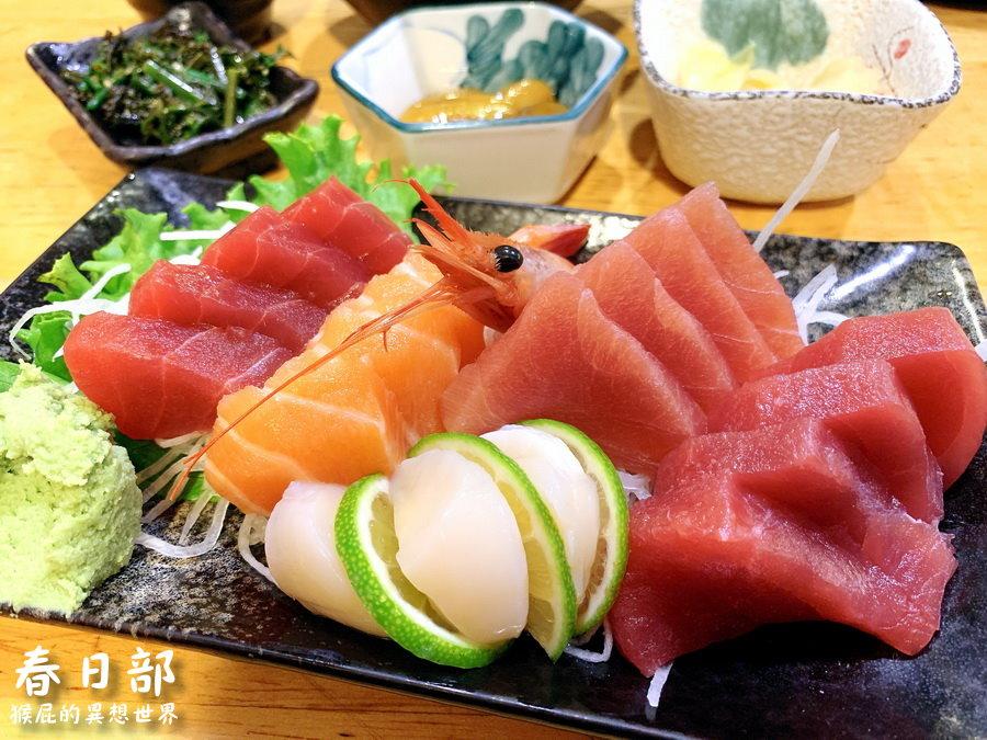 食尚玩家激推台東隱藏版日本料理!超新鮮生魚片!春日部日本家庭料理