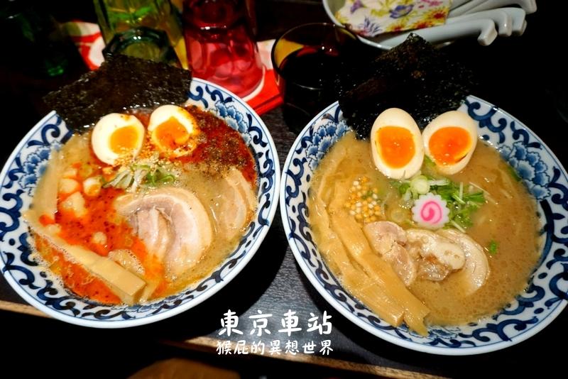【日本東京美食】東京車站必吃美食-斑鳩拉麵&Calbeee卡樂比洋芋片專賣店(東京車站一番街、東京自由行) @猴屁的異想世界
