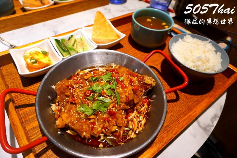 即時熱門文章:【新竹美食】新竹泰式料理推薦505 Thai泰式定食!椒麻雞超大塊!近竹北火車站!竹北泰式料理!內有505 thai菜單!