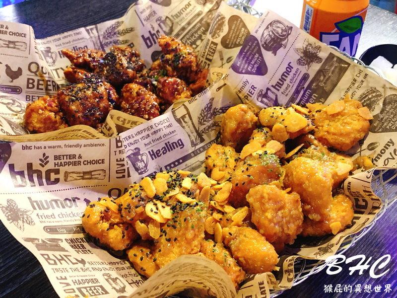 【2019韓國自由行】首爾弘大美食BHC韓式炸雞!蒜味蜂蜜炸雞很特別!但個人還是最愛橋村炸雞!(弘大炸雞推薦、弘大美食推薦)