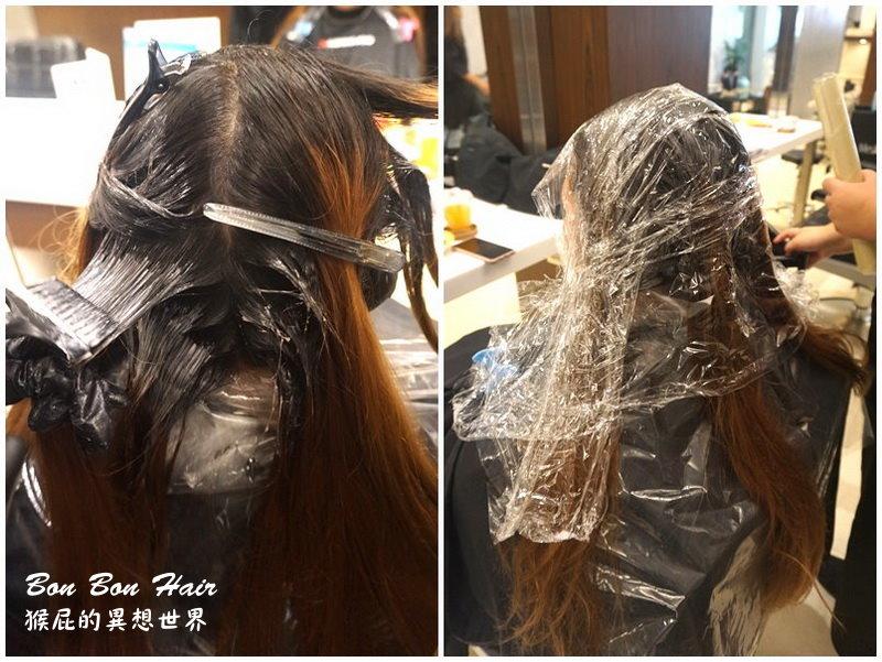 【台北中山】流行髮色柔霧灰!捷運中山站美髮Bon Bon Hair設計師Eiko!使用染髮系列產品為首Napla娜普菈新產品!結構式護髮超柔順!捷運中山站美髮推薦、台北髮廊推薦! @猴屁的異想世界