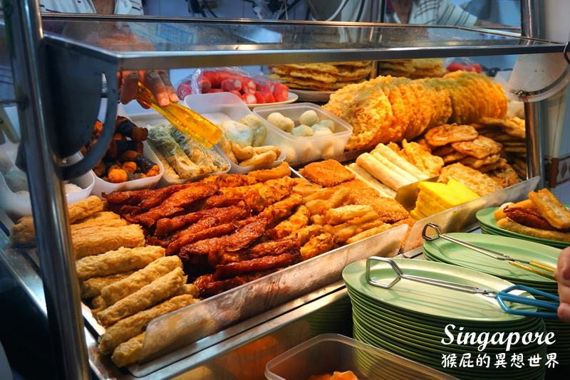 【新加坡自由行】彩虹巷(哈芝巷)旁的人氣小吃-白蘭閣街蝦麵!新加坡美食推薦-濃郁好吃的蝦麵!(新加坡武吉士站) @猴屁的異想世界