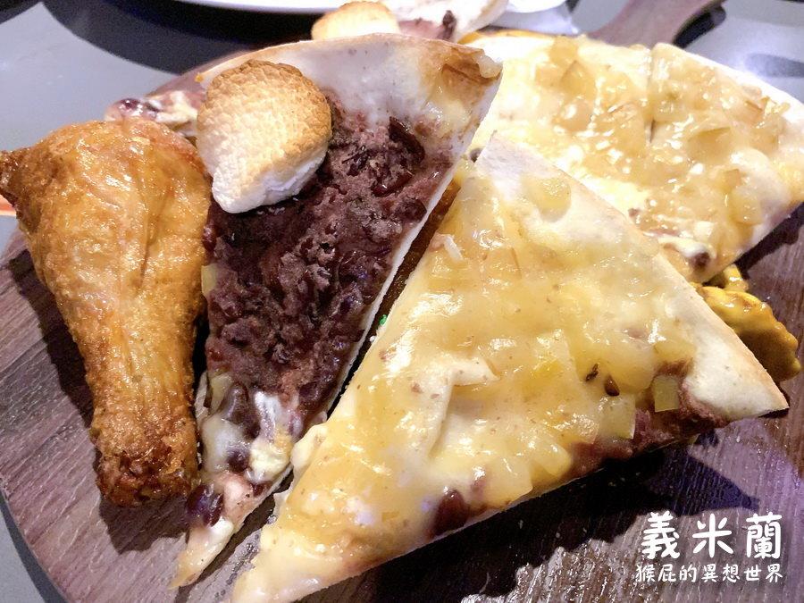 【台中吃到飽】台中披薩炸雞吃到飽-義米蘭沙鹿店!羊排、燉飯都超級優秀,CP值高! @猴屁的異想世界