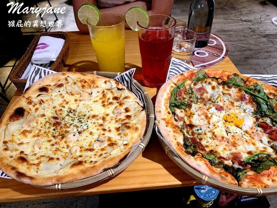 【台北師大】師大有名的薄片10吋披薩-Maryjane Pizza瑪莉珍披薩!商業午餐9吋披薩140元!KLOOK瑪莉珍披薩優惠餐卷!