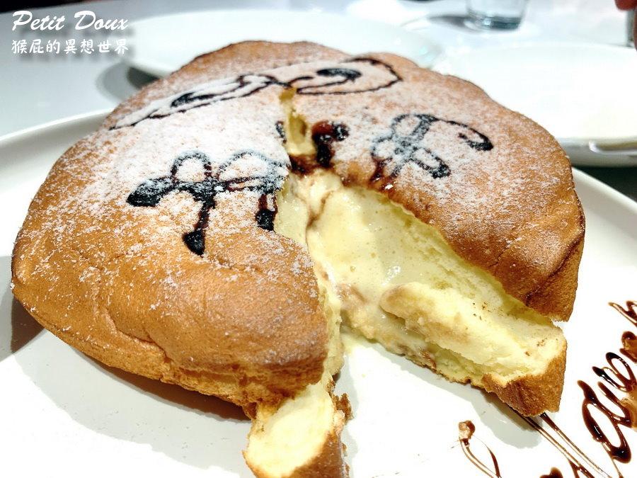 【台北車站】台北網美餐廳-petit doux微兜京站店!超夢幻粉紅色風格超好拍!義大利麵好吃、鬆餅會爆漿! @猴屁的異想世界