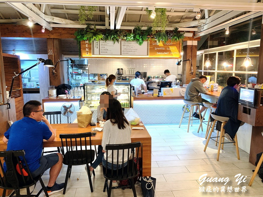 【公館美食】公館最美玻璃屋咖啡廳-光一肆號!享受都市裡的世外桃源!公館早午餐、義大利麵推薦! @猴屁的異想世界