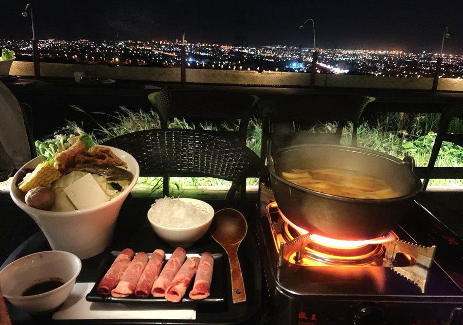 【台中夜景餐廳】不夜天夜景餐廳:台中百萬夜景!窯烤披薩、火鍋好吃!台中包廂餐廳!內有不夜天菜單!