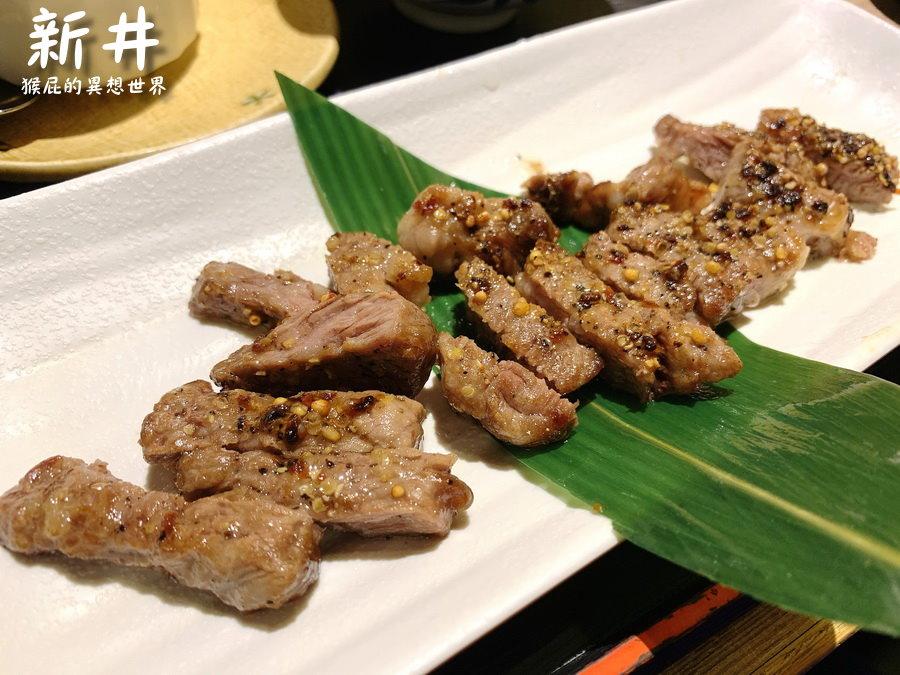 【中和美食】新井日本料理,永安捷運站美食!生魚片、丼飯、定食、無菜單料理通通有!