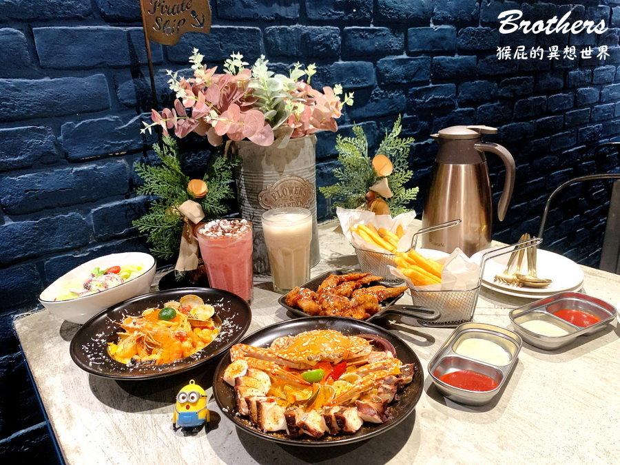 【一中街網美餐廳】8德司創意餐館隱藏版美食超浮誇101海鮮塔!台中好吃義大利麵!(一中街美食、一中街餐廳)