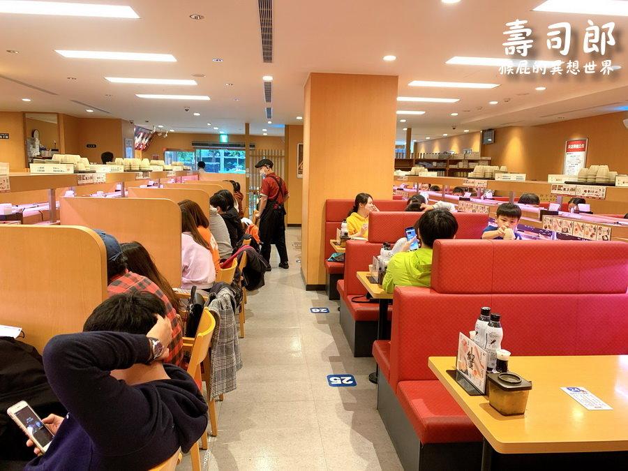 【西門町美食】壽司郎中華店!西門町壽司郎生意超好大排隊!日本超人氣迴轉壽司超好吃! @猴屁的異想世界