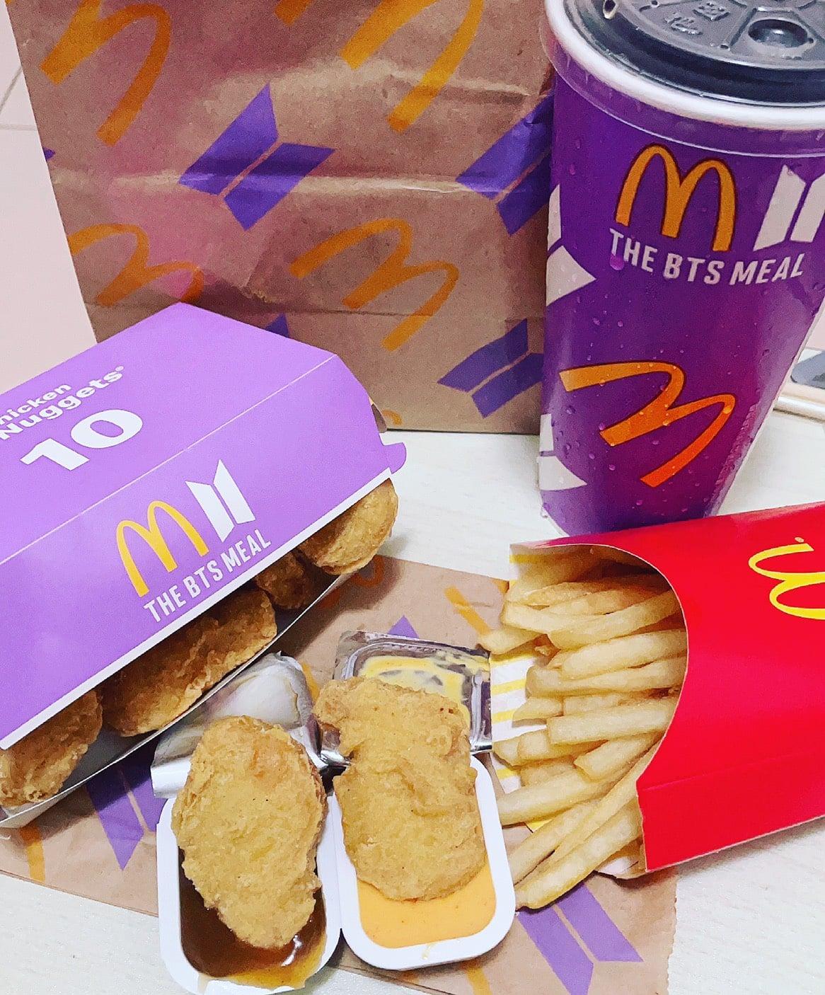 麥當勞BTS套餐!THE BTS MEAL防彈少年團與麥當勞聯名!肯瓊醬深得我心!BTS紙袋之亂很逗趣!(6/9~6/29) @猴屁的異想世界