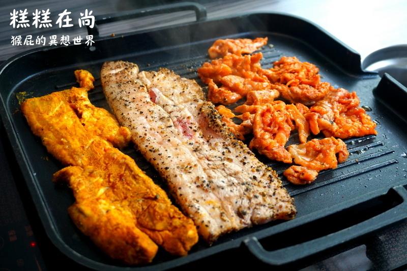 【台中吃到飽】Running Man指定餐廳-糕糕在尚韓式烤肉吃到飽(台中館前店)!近台中科博館、台中SOGO、勤美綠園道! @猴屁的異想世界